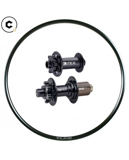 roues artisanales vtt