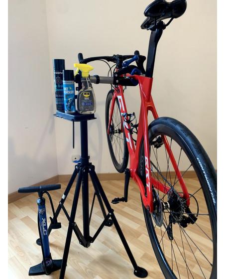 pied atelier vélo route