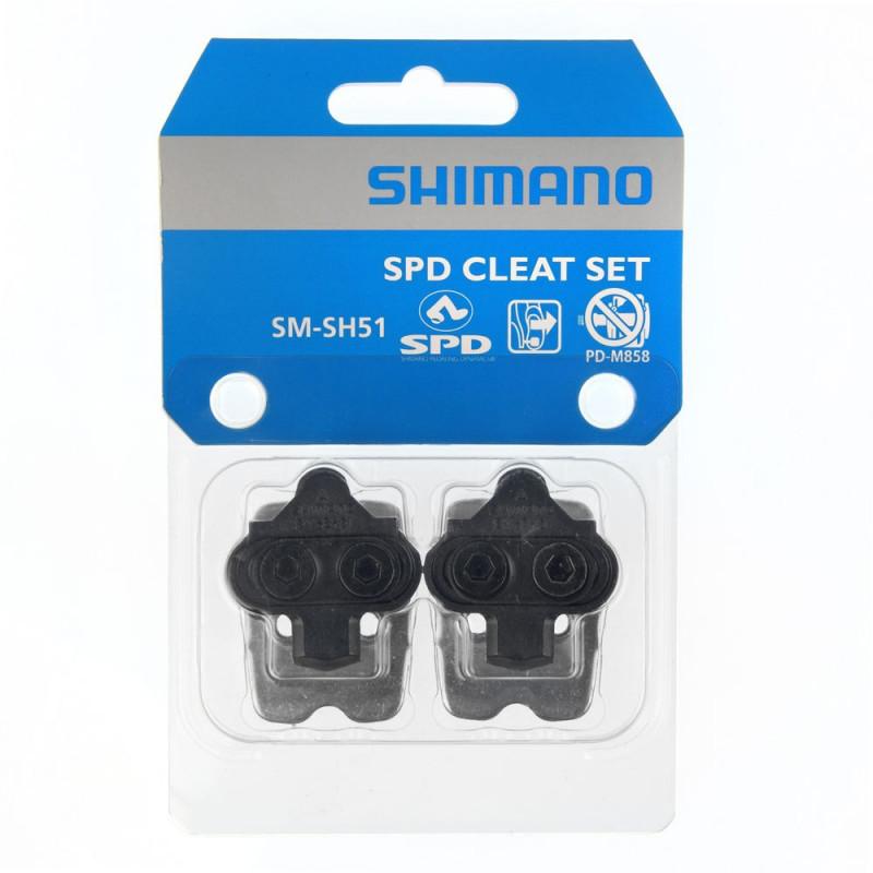 cales shimano sh51