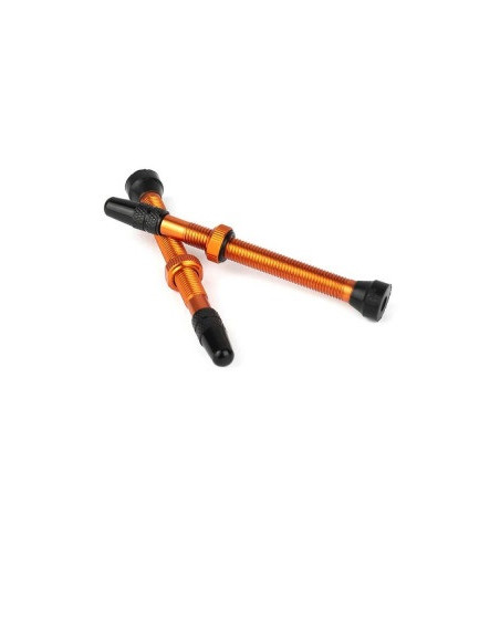 valve tubeless orange