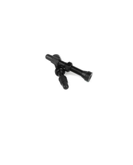 valve tubeless noir