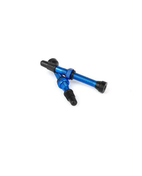 valve tubeless bleu