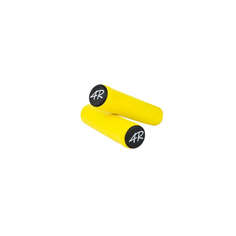 poignée jaune vélo