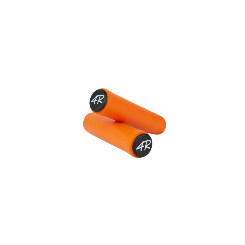 poignée orange VTT