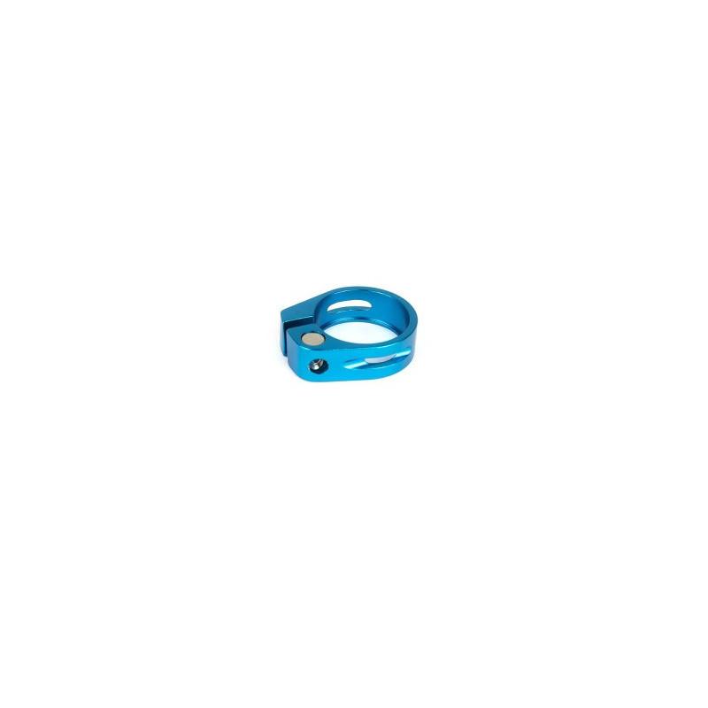collier de tige de selle bleu