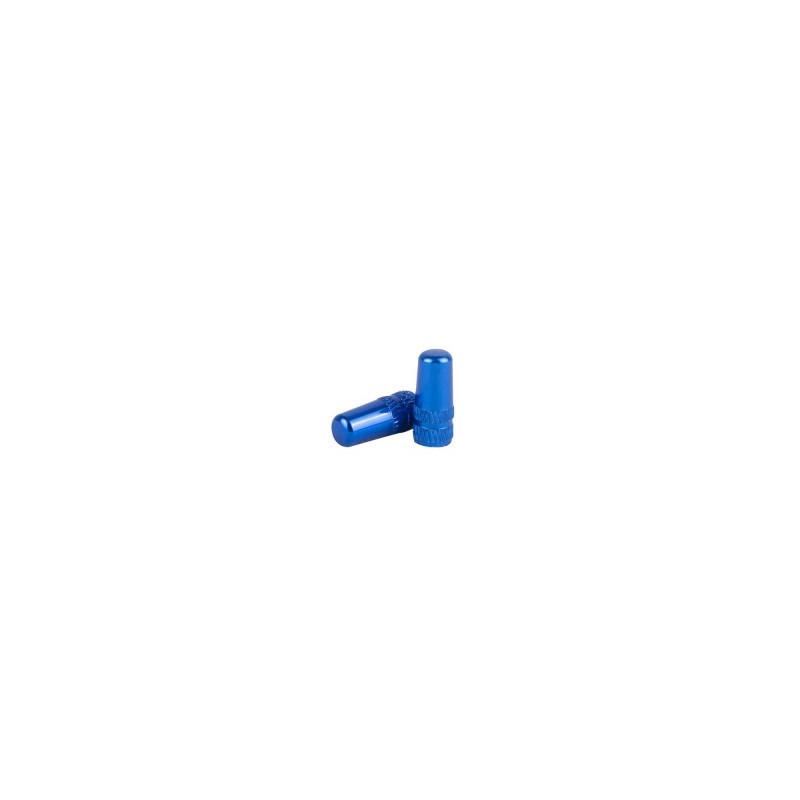 bouchon de valve presta bleu