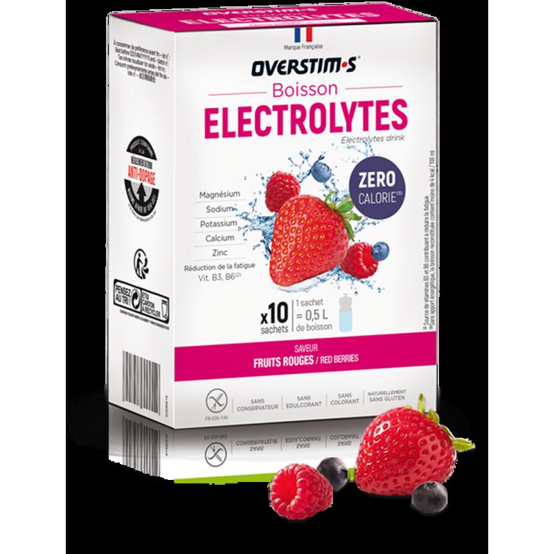 électrolytes overstims